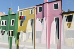 Burano färbt #4 Stockfotos