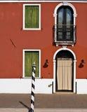 Burano facade Royalty Free Stock Photos