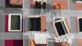 Burano gestaltet #5 Stockfoto
