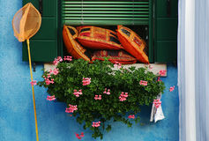 Burano glimpse Royalty Free Stock Images