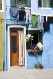 Burano house - Venice Stock Image