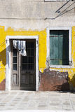 Burano house - Venice Stock Images