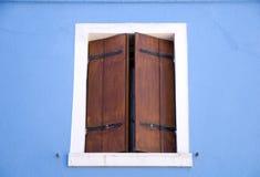 Burano house window Stock Photos