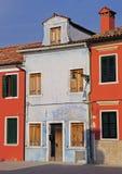 Burano houses Stock Photography