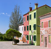 Burano Houses Royalty Free Stock Image