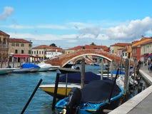 Burano Insel, Venedig Stockbilder