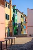 Burano Insel, Venedig, Italien stockfoto