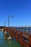 Burano-Inselbrücke Stockfoto