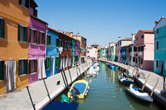 Burano island Royalty Free Stock Photo