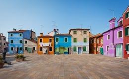 Burano Island, Italy Stock Image