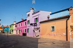 Burano Island, Italy Royalty Free Stock Photography