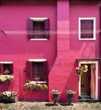 Burano Island, Italy Stock Images