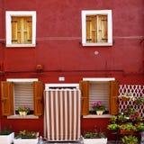 Burano Island, Italy Royalty Free Stock Images