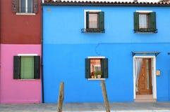 Burano island in Italy Royalty Free Stock Photography