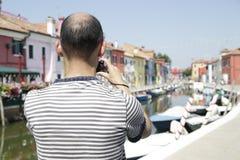 Burano Island, Italy Stock Photos