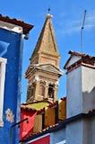 Burano island, Italy Stock Photography