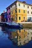 Burano island Royalty Free Stock Images
