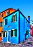 In Burano island near Venice in Italy Stock Photo