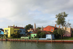 Burano Island, near Venice Stock Photo