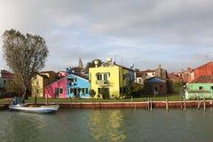 Burano Island, near Venice Royalty Free Stock Photo
