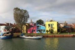 Burano Island, near Venice Royalty Free Stock Images