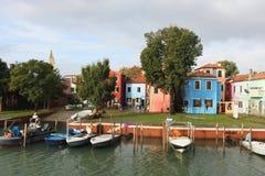 Burano Island, near Venice Stock Photos