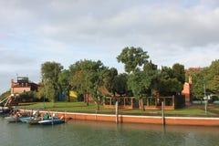 Burano Island, near Venice Stock Image