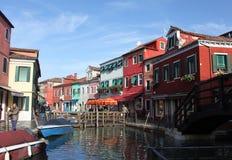 Burano Island, near Venice Royalty Free Stock Image