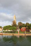 Burano Island, near Venice Stock Photography