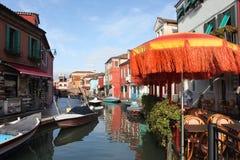 Burano Island, near Venice Royalty Free Stock Photography