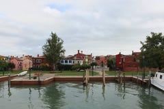 Burano Island, near Venice Royalty Free Stock Photos