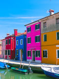 Burano, an island in the Venetian Lagoon Stock Image