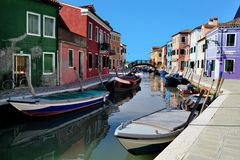 Burano island in the Venetian Lagoon, Italy Stock Photo