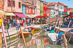 Burano Island, Venice Royalty Free Stock Image