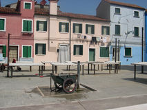 Burano island, Venice Stock Photography