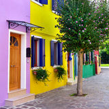 Burano island, Venice. Stock Photo