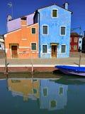 Burano island, Venice Stock Image