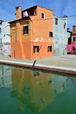 Burano island, Venice Stock Photography