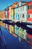 Burano island, Venice Royalty Free Stock Photography