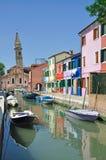 Burano Island,Venice,Italy stock photos