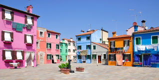 Burano Island,Venice,Italy stock photo