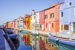 Burano island of Venice Royalty Free Stock Photos