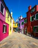 Burano island. Venice. Italy. Stock Photo