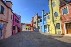 Burano island. Venice. Italy. Stock Image