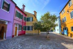 Burano island. Venice. Italy. Royalty Free Stock Image