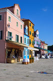 Burano island, Venice Stock Photos