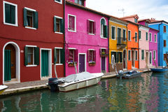 Burano island, Venice Royalty Free Stock Photos