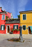 Burano island Royalty Free Stock Photography