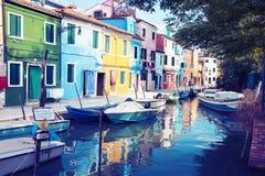 Burano Island, Venice, Stock Photography