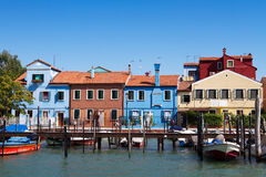 Burano island Stock Photo